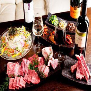 渋谷にある焼肉店の歓送迎会に最適なコース
