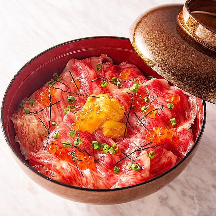 渋谷の焼肉「渋谷神宮前 YAKINIKU ZENIBA」で焼肉のあとの〆メニューを楽しむ